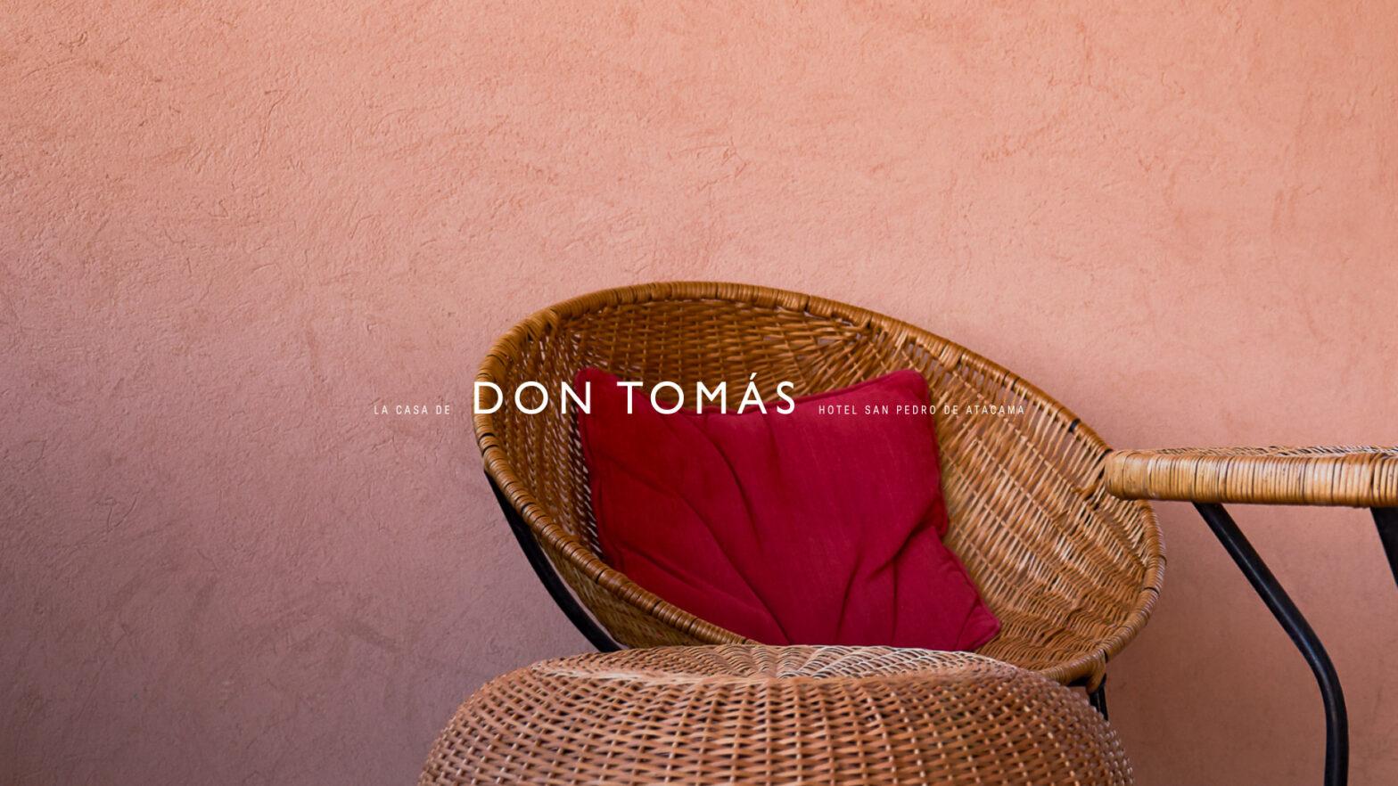 Fotografia Hotel La casa de don tomas con texto