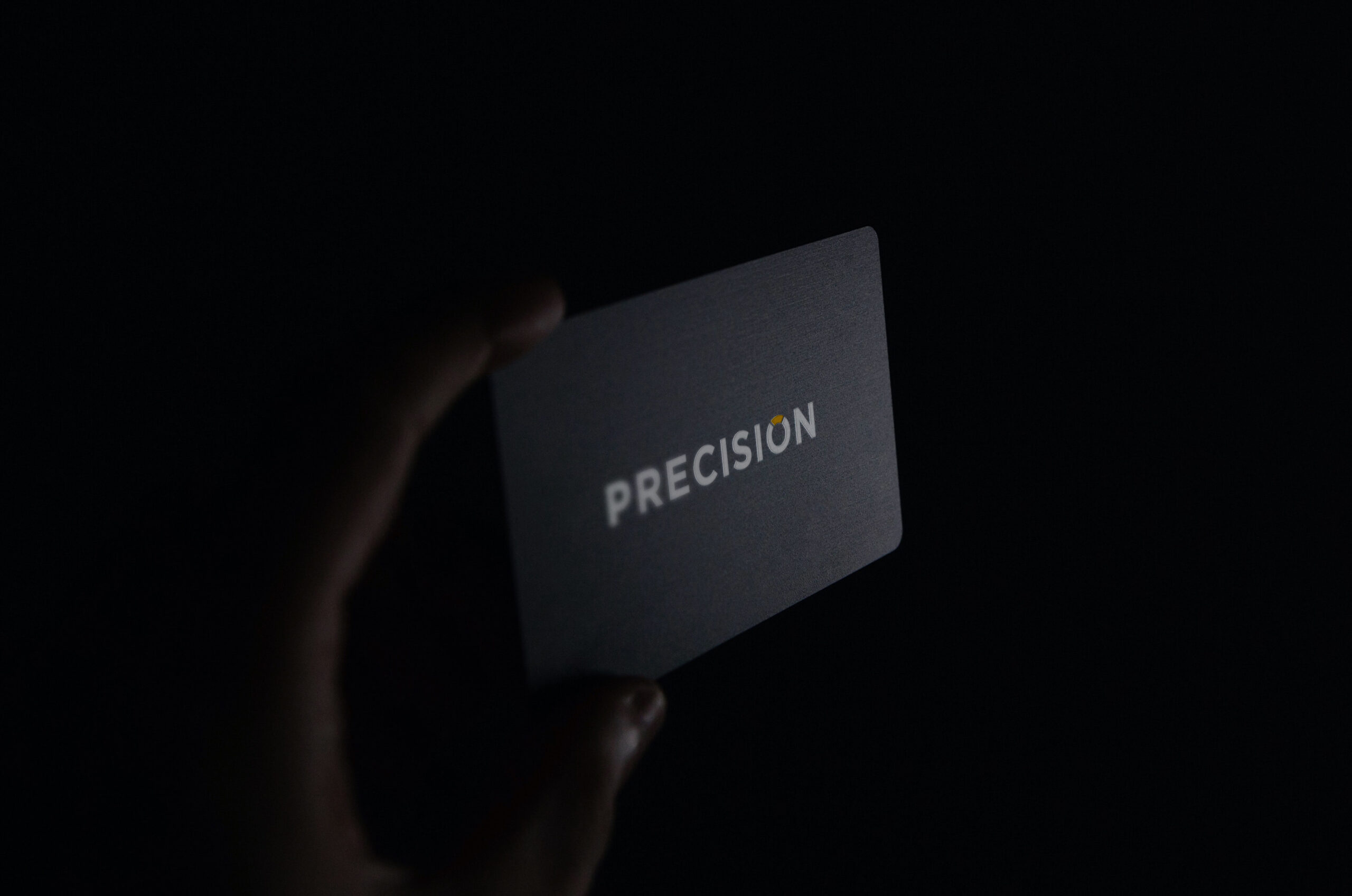 Tarjeta de presentacion PRECISION
